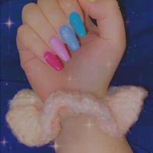 Premium crochet scrunchies
